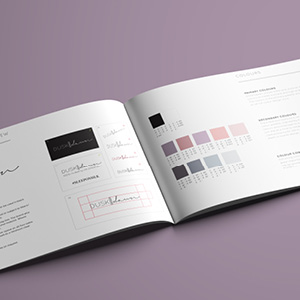 Creating Corporate Brand Guidelines for a Luxury Homeware Brand
